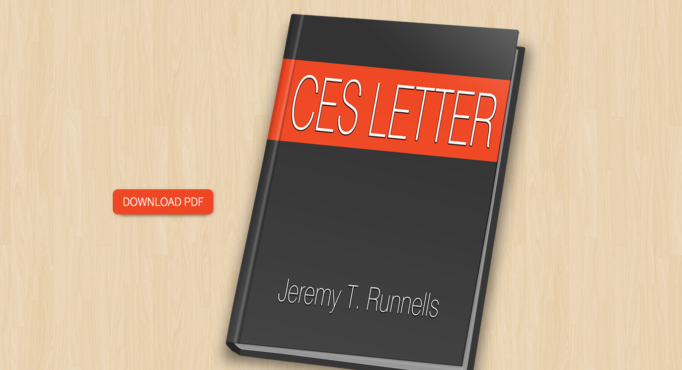 A Millennial's (Brief) Guide to the CES Letter | Zelph on the Shelf